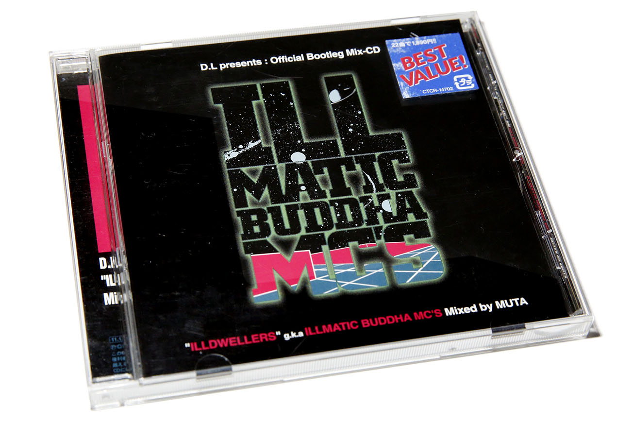 ILLMATIC BUDDHA MC'S D L presents : Official Bootleg Mix-CD